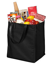 Port & Company B160 Unisex ExtraWide Polypropylene Grocery Tote at GotApparel