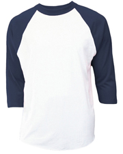 Soffe B209 Girls Raglan Baseball 50/50 Cotton/Poly at GotApparel