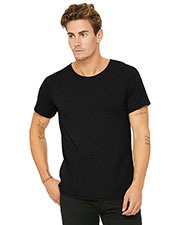 Bella + Canvas B3014  S Jersey Raw Neck T-Shirt at GotApparel