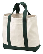 Port & Company B400 Women 2tone Shopping Tote at GotApparel