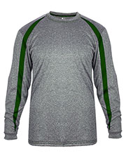 Badger 004350  Fusion L/S Tee at GotApparel