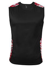 Badger B4532 Men Digital Sleeveless Tight-Fit Tee at GotApparel