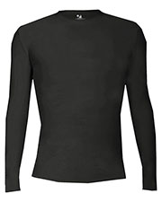 Badger B4605 Men Pro-Compression Long-Sleeve Crew at GotApparel