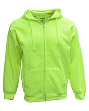 Bright Shield B501 Men Full-Zip Fleece Hood at GotApparel