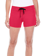 Burnside B5371 Women Dobby Stretch Board Short at GotApparel