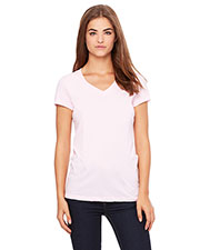 Bella + Canvas B6005 Women Jersey Short-Sleeve V-Neck T-Shirt at GotApparel