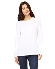 Bella + Canvas B6450 Women's Jersey Long-Sleeve T-Shirt at GotApparel