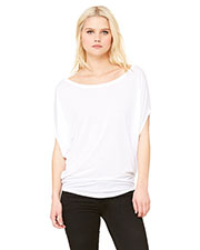 Bella + Canvas B8806 Women Flowy Circle Top at GotApparel