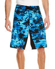 Burnside B9371 Men Dobby Stretch Board Short at GotApparel