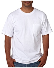 Bayside 5070 Men short sleeve Tee with Pocket at GotApparel