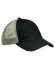 Big Accessories BA601 Unisex Washed Trucker Cap at GotApparel