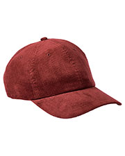 Big Accessories BA703 Unisex Corduroy Cap at GotApparel