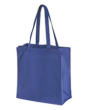 Big Accessories / BAGedge BE055 Unisex 6 oz. Canvas Grocery Tote at GotApparel