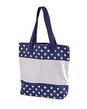 Big Accessories / BAGedge BE066 Unisex 12 oz. Canvas Print Tote at GotApparel