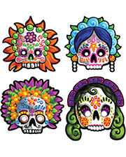 DAY OF THE DEAD MASKS at GotApparel