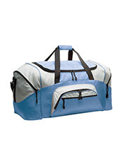 47%OFF Port   Company BG99 Unisex Colorblock Sport Duffel at GotApparel 6a524c8e52e2f