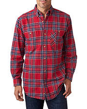Backpacker BP7001 Men YarnDyed Flannel Shirt at GotApparel