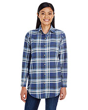 Backpacker BP7030 Women Yarn-Dyed Flannel Shirt at GotApparel