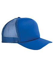 Big Accessories / BAGedge BX010 Unisex 5Panel Twill Trucker Cap at GotApparel