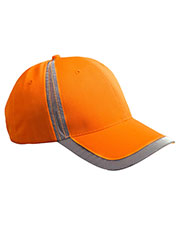 Big Accessories / BAGedge BX023 Unisex Reflective Accent Safety Cap at GotApparel