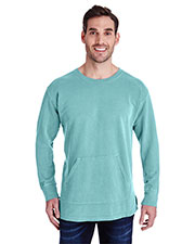 Comfort Colors C1536 Men French Terry Crew With Pocket at GotApparel