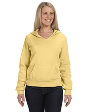 Comfort Colors C1595 Women 10 oz. Garment-Dyed FrontSlit Pullover Hood at GotApparel