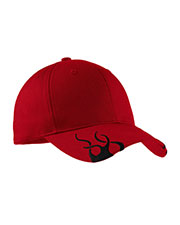 Port Authority C857 Men Racing Cap with Flames at GotApparel