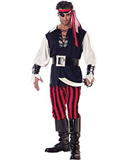 Halloween Costumes CC01318LG Men Cutthroat Pirate Adult Lg 42 44 at GotApparel