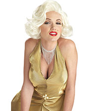 Halloween Costumes CC70468BD Unisex Marilyn Classic Blonde Wig at GotApparel