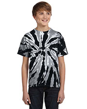 Tie-Dye CD110Y Boys 5.4 oz., 100% Cotton Twist d T-Shirt at GotApparel