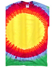 Tie-Dye Cd1140  Rainbow Pattern D Tee at GotApparel