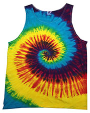 Tie-Dye CD3500 Men 5.4 oz. 100% Cotton Tie-Dyed Tank at GotApparel