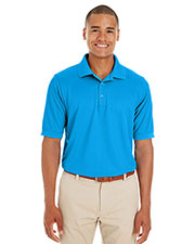 Ash City CE100  Men's Pilot Textured Ottoman Polo at GotApparel