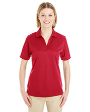 Ash City CE100W  Ladies' Pilot Textured Ottoman Polo at GotApparel