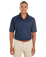 Ash City CE102  Men's Express Microstripe Performance Piqué Polo at GotApparel