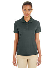 Ash City CE102W  Ladies' Express Microstripe Performance Piqué Polo at GotApparel