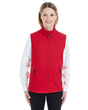 Ash City CE701W  Ladies' Cruise Two-Layer Fleece Bonded Soft Shell Vest at GotApparel