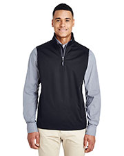 Ash City - Core 365 CE709 Men Techno Lite Shell Quarter-Zip Vest at GotApparel