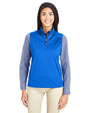 Ash City - Core 365 CE709W Women Techno Lite Shell Quarter-Zip Vest at GotApparel