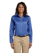 Chestnut Hill CH620W Women Executive Performance Pinpoint Oxford at GotApparel