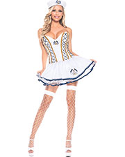 Halloween Costumes CK1048ML Women Naughty Sailor Med Large at GotApparel