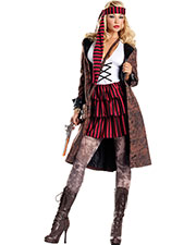 Halloween Costumes CK1283SD Women Provocative Pirate Sm Med at GotApparel