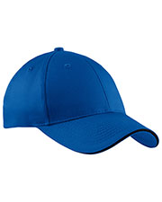 Port & Company CP85 Men Sandwich Bill Cap at GotApparel