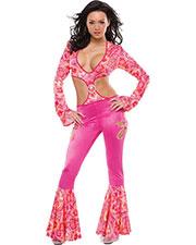 Halloween Costumes CQ6065ML Women Radically Retro Medium Large at GotApparel