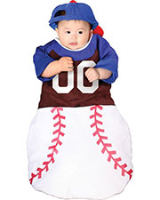 Halloween Costumes CS10946 Infants Bunting Home Run at GotApparel