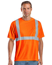 CornerStone® CS401 Men's ANSI 107 Class 2 Short-Sleeve Safety T-Shirt at GotApparel