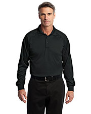 CornerStone® CS410LS Men's Select Long-Sleeve Snag-Proof Tactical Polo at GotApparel