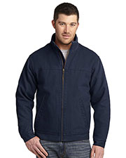 Cornerstone  CSJ40 Men Washed Duck Cloth Flannel-Lined Work Jacket at GotApparel