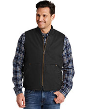 Cornerstone Csv40    Washed Duck Cloth Vest at GotApparel