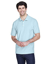 Devon & Jones Classic D100 Men Pima Pique Short-Sleeve Polo at GotApparel